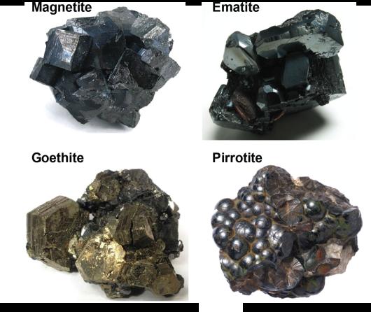 minerali magnetici