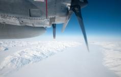 In volo sull'Antartide. Foto di C. Cesaroni, (c)PNRA