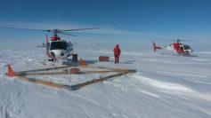 Rilievi radar da elicottero. Foto di S. Urbini, (c)PNRA