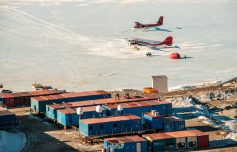 La base italiana in Antartide, Mario Zucchelli. Foto di C. Cesaroni, (c)PNRA