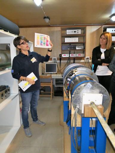 Il laboratorio di Paleomagnetismo a Roma. Notte dei ricercatori 2018. Foto di C. Cesaroni