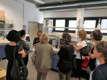Il laboratorio HPHT a Roma. Notte dei ricercatori 2018. Foto di C. Cesaroni