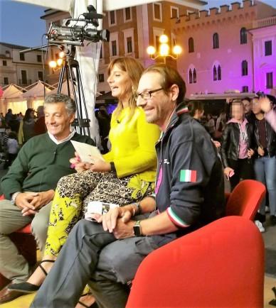 Intervista a L. Valensise e M. Pignone per #Sharper2018. Foto di M. Di Nezza