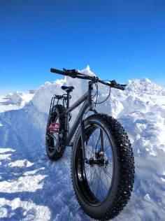 La bici il miglior mezzo di locomozione a Concordia! Foto di G. Benedetti , ©PNRA/IPEV